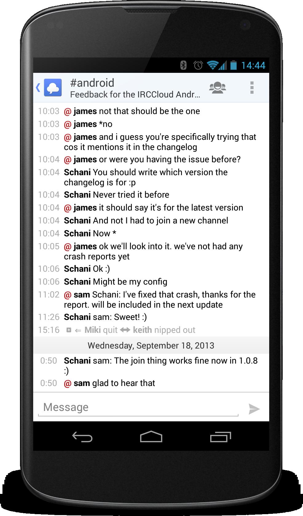 Open source dating app