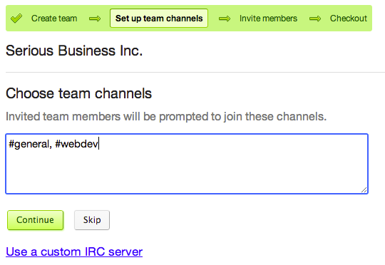Private servers for teams | IRCCloud Blog